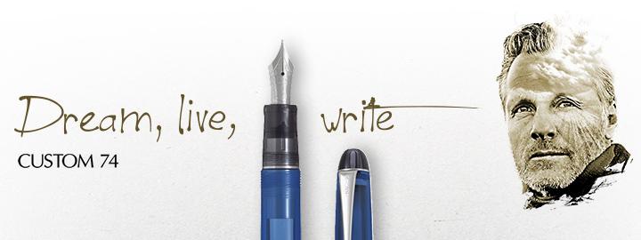 Pilot - Fine Writing - Custom 74 Blue