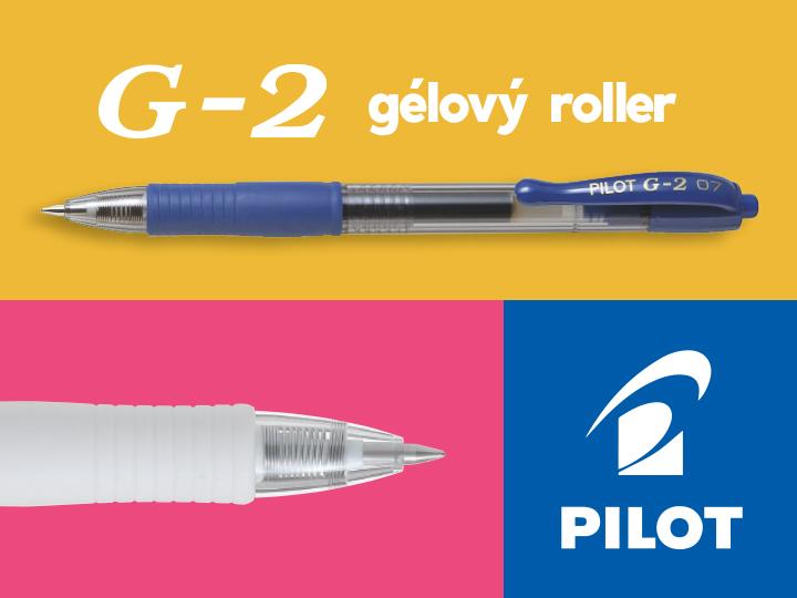 Pilot G-2 Gélové rollery