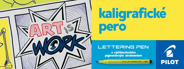 Pilot Lettering pen kaligrafické pero