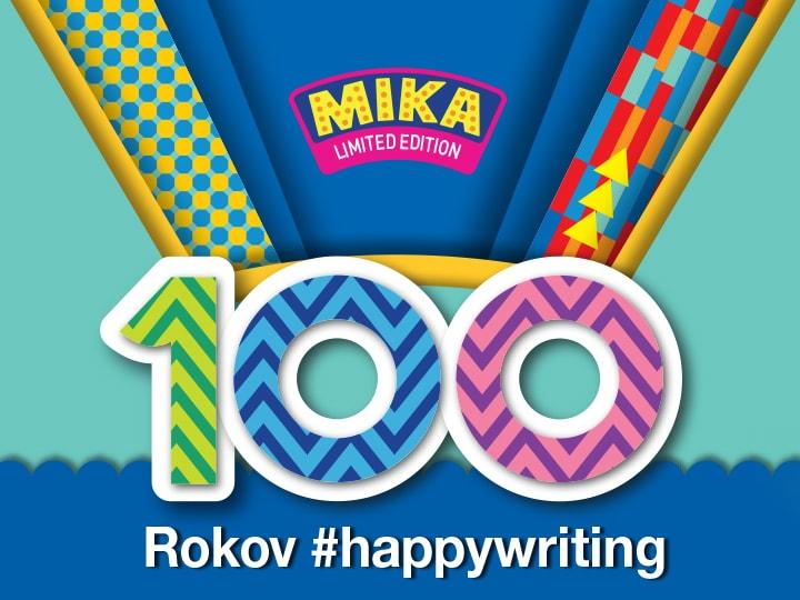 Pilot 100 rokov FriXion Clicker Mika