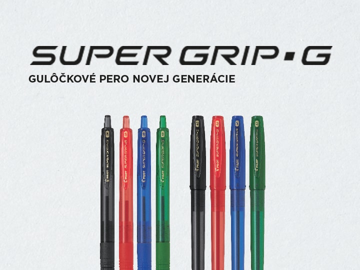 Pilot Super Grip G Guľôčkové pero
