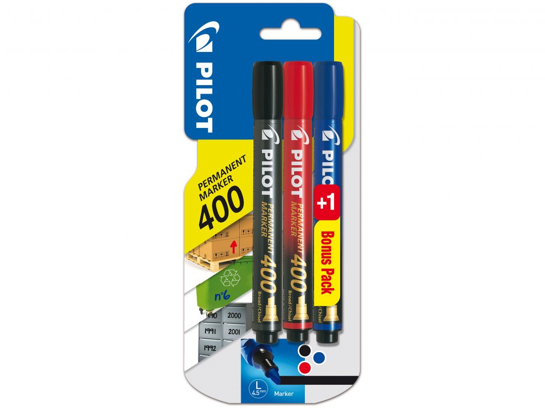 Blis 2+1 Permanent Marker 400 Broad B/R/L