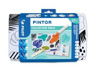 Pilot Pintor - zberateľská sada - mix farieb - Extra tenký (EF) / Tenký (F) / Medium (M)