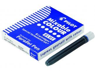 Parallel Pen - Balenie 6 ks náplní do plniacich pier - Modrá - Tekutý atrament